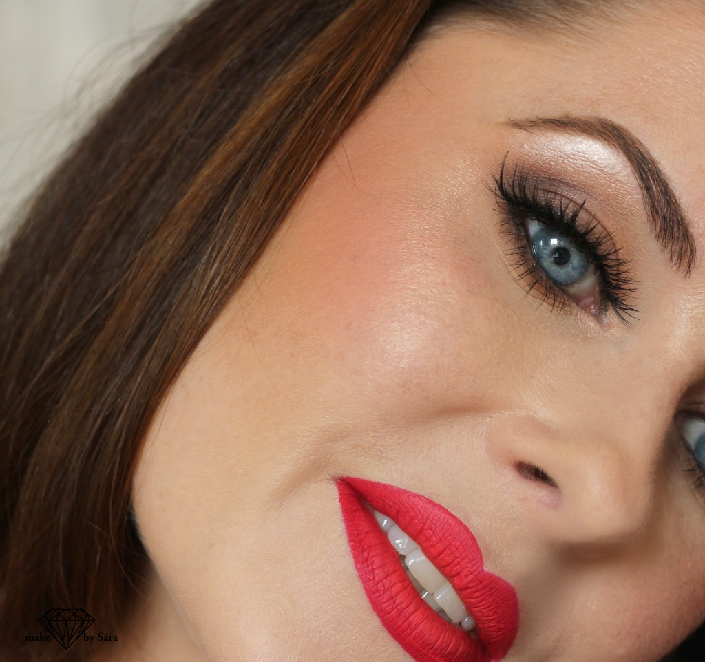 closeup-redmakeup