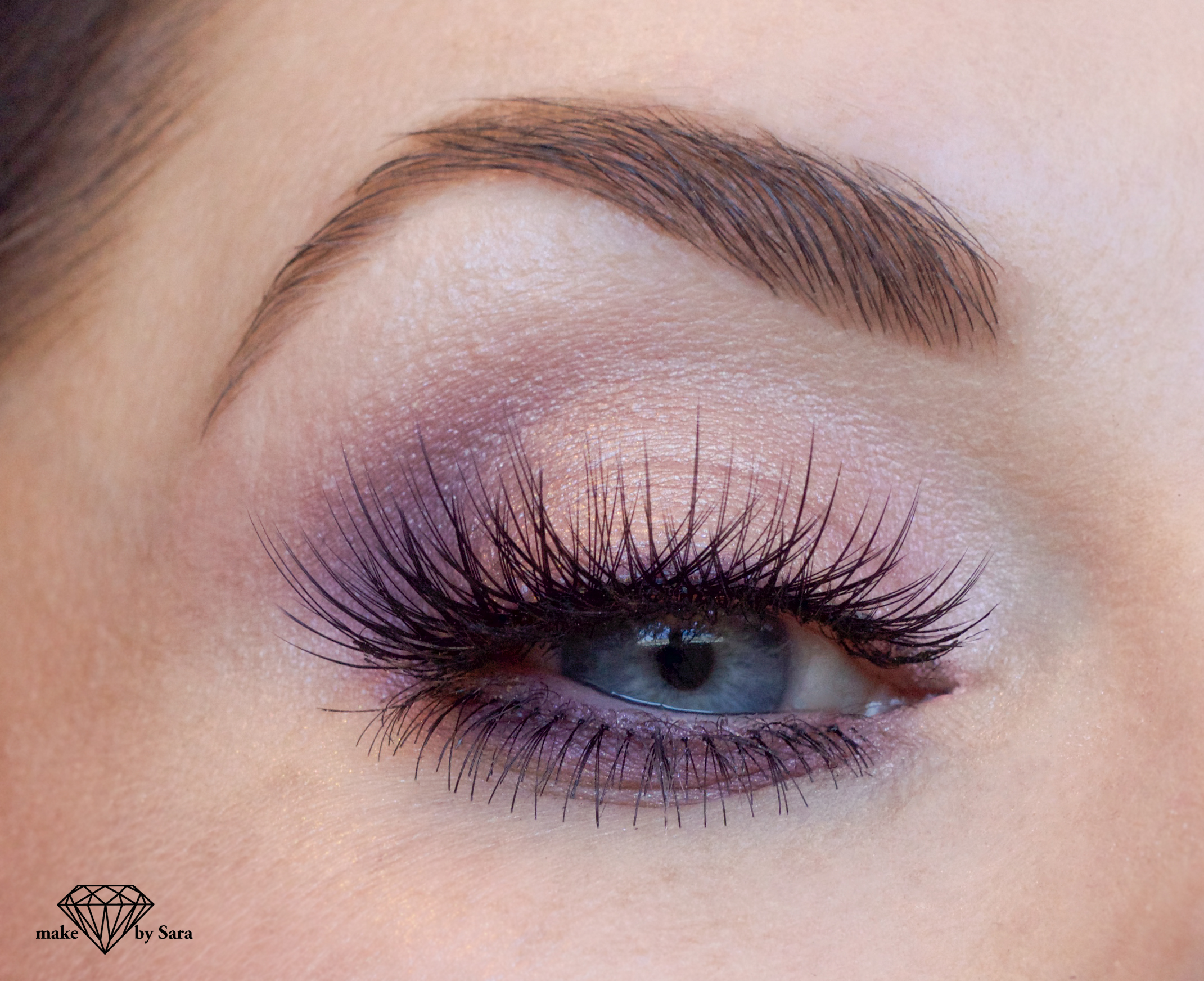 Squishy Eyeball : Soft Romantic glamour makeup ? Look for Spring 2016 Make by Sara